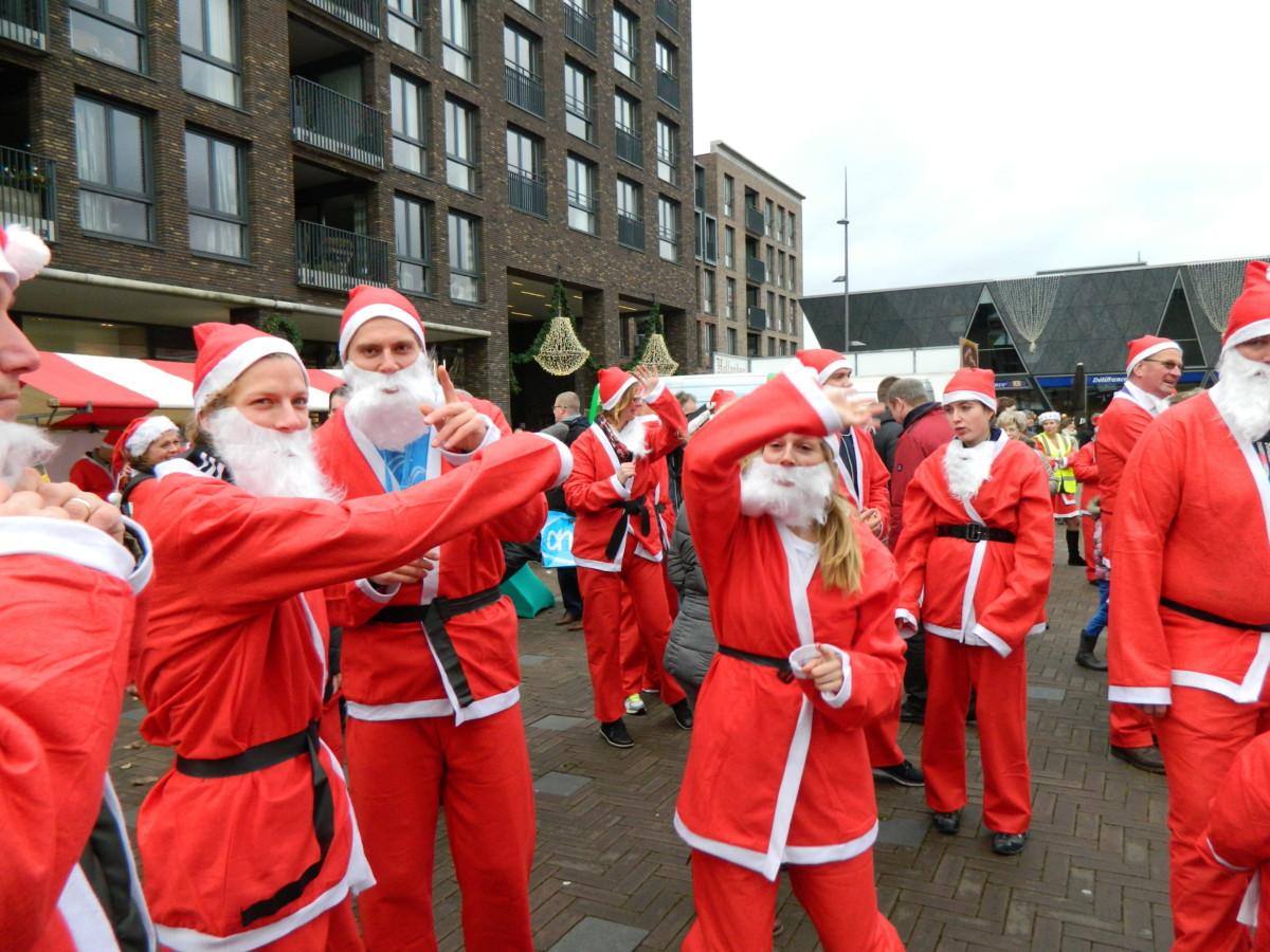 Vijfde Rotary Santa Run in Pijnacker op zondag 16 december 2018
